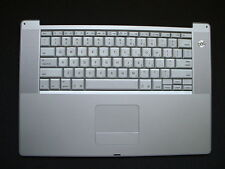 """Powerbook G4 15"""" 1.5 or 1.67 GHz  A1106 Keyboard TrackPad 620-3223-A 620-3030-A"""