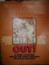 INDIA - THE ILLUSTRATED WEEKLY OF INDIA - IS SUNIL GAVASKAR WORST CAPTAINS ?