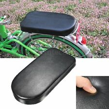 Comfortable Bike Bicycle MTB Soft Cushion Seat Rear Rack For Adults Children
