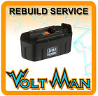 WE REBUILD YOUR 19.2 VOLT PORTER CABLE BATTERY 8823 8923 W/ 2.2AH NICD CELLS