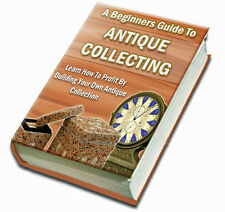 Discover How To Make Huge Profits Buying And Sellling Antiques Online (CD-ROM)
