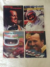 A J Foyt Set Of 4 Signed Sports Illustrated 8 X 10 Photos Autographed