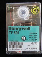 Steuergerät Satronic  Honeywell TF 801  Ölfeuerungsautomat Buderus BDE BRE