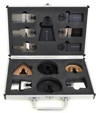 13pc Antler Blades Case Set Dewalt Stanley Worx F30 Oscillating Multi Tool