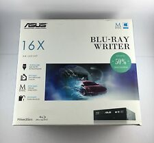 Asus BW-16D1HT Grabadora Blu-ray 12x BD-RE Combo BD-RW, DVD-RW, M-disc, Bdxl