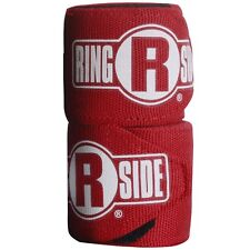 """New Ringside Pro Mexican Kick Boxing MMA Handwraps Hand Wrap Wraps 200"""" - Red"""