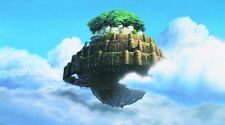 Castle in the Sky Manga Anime Fabric Art Cloth Poster 24inch x 13inch Decor 05