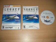 Legacy-jet ejecutivo PC DVD ROM Add-On Flight Simulator X y 2004 FS2004 Fsx