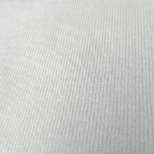 1x1 Baby Rib Knit Fabric 100% Cotton Fabric Jersey T-shirt Fabric BTY BR1