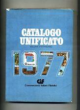 CATALOGO UNIFICATO 1977 - Anno III - Volume II° Standard # CIF 1976 Francobolli