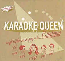 Catatonia - Karaoke Queen UK 1-Track CD-Acetate CardPS