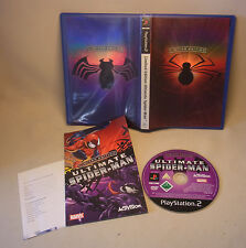 PLAYSTATION 2 PS Video Game gioco LIMITED EDITION ULTIMATE SPIDERMAN