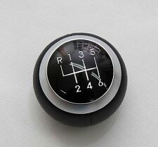 OEM Genuine Leather 6-Speed Gear Knob For Tiburon Coupe Tuscani 2003-2008
