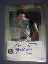 ALEX WIMMERS 2011 Bowman Draft Prospects AUTO #BPA-AW Twins RC
