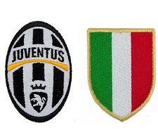 Toppa Patch Stemma JUVENTUS + SCUDETTO italia calcio figc juve roma inter soccer
