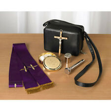 Pastoral Sick Call Set with a Vinyl Case - Free Shipping