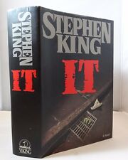 1st/1st It - Stephen King 1986 Viking HCDJ Horror Classic