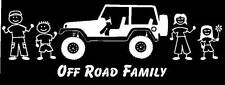 Jeep Family Vinyl Car Decal Sticker Custom Made Personalized