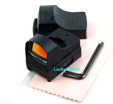 Tactical Mini Compact Reflex Micro Red Dot Sight Fit For Scope Rifle & Pistol