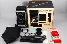 【ALMOST UNUSED IN BOX】MAMIYA C33 Pro 6x6 TLR w/105mm F3.5 From japan #254
