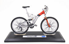 Welly 1:10 Audi Design Cross Pro Mountain Bike Bicycle Diecast Model Toy New