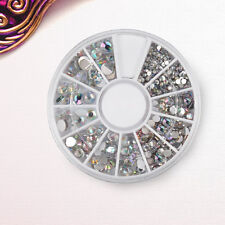 Nail Art Glitter Strass Pailetten Rhinestone 1.5-5.0mm Nagel Sticker