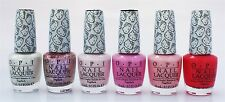 OPI Lacquer Nail Polish Hello Kitty Pinks Collection Set Of 6
