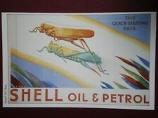 POSTCARD  SHELL POSTER - SHELL OIL & PETROL THE QUICK STARTING PAIR (1)