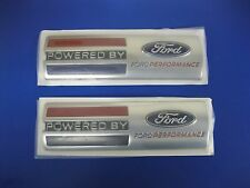 FORD RACING POWERED BY FORD PERFORMANCE FENDER BADGE SET M-16098-PBFP