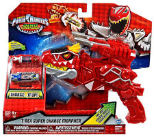 Power Rangers Super Dino Charge - T-rex Super Charge Morpher - New