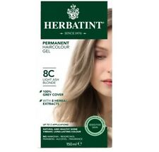 Herbatint Permanent Hair Colour 8C Light Ash Blonde
