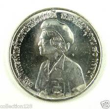 Thailand Commemorative Coin 1980 UNC,80th Birthday of King's Mother