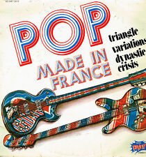 """LP 12"""" 30cms: Pop made in France: compilation. EMI punch. B"""