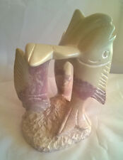 Small Hand Carved Fair Trade Soapstone Fish Sculpture 16cms high