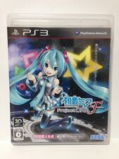 Used PS3 Hatsune MIKU Project DIVA F Japan Import
