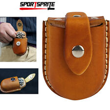 Hunting Catapults Games Pouch Slingshot Steel Balls Bearing Leather Waist Bag