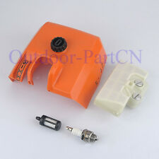 Fuel Air Filter & Cover & Spark plug For STIHL 029 039 MS290 MS310 MS390 gas saw