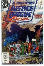 JUSTICE LEAGUE EUROPE (1989) #8 DC Comics VF/NM