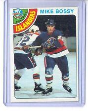 1978-79 TOPPS MIKE BOSSY RC #115 ISLANDERS HOF