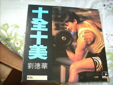 "a941981 劉德華 Andy Lau HK Promo 12"" Single  LP 十全十美"