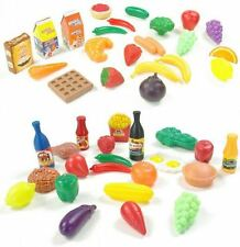 22 Pieces Childrens Kids Pretend Play Breakfast Fast Food Shop Grocery Toy
