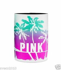 VICTORIA'S SECRET PINK BLUE & PURPLE LOOZIE KOOZIE WATER BOTTLE CUP DRINK HOLDER