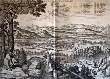 LINZ - sehr schöne grosse Ansicht der Stadt um 1595 - Original Ebay-Sonderpreis!
