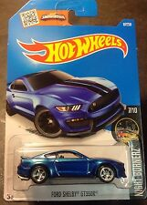 Hot Wheels CUSTOM Super Ford Shelby GT350R with Real Riders