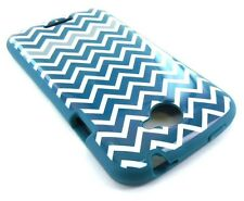 New Tech21 D30 Chevron ZigZag Pattern HTC Flex Protective Cover for HTC One S