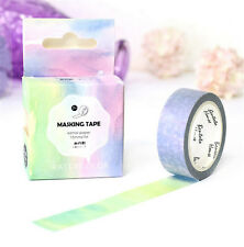 HOT Design 15mm×7M paper Sticky Adhesive Sticker Decorative Washi Tape DYI H-23