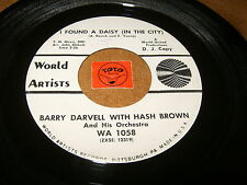 BARRY DARVELL - I FOUND A DAISY - KISSABLE LIPS  / LISTEN - TEEN ROCK POPCORN