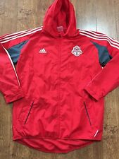 Adidas Formation Toronto FC Team Weather Resistant Sideline Soccer Jacket sz XL