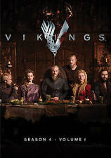 Vikings: Season 4, Part 1 (DVD, 2016, 3-Disc Set) - Brand New - Free Shipping!