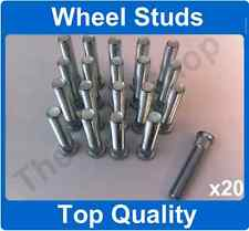 x20 M12 x 1.25 62mm LONG ALLOY WHEEL HUB STUD WHEEL STUDS SPLINE STUDS